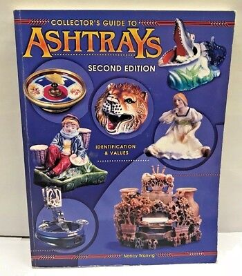 Vintage ASHTRAYS BOOK Reference Identification Price Guide Glass Ceramic Value