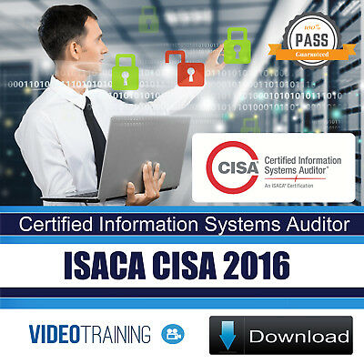 ISACA CISA 2016 - Certified Information Systems Auditor Video Training DOWNLOAD