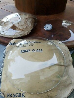 """ANTIQUE 5.5"""" inch BEVELED Dial Glass 