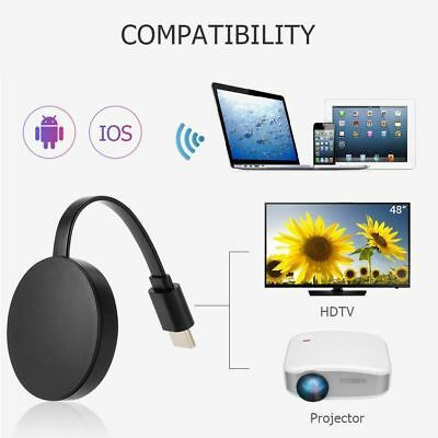 Pour Google Chromecast 2 WiFi HDMI Écran Miroir Dongle YouTube Netflix Miracast