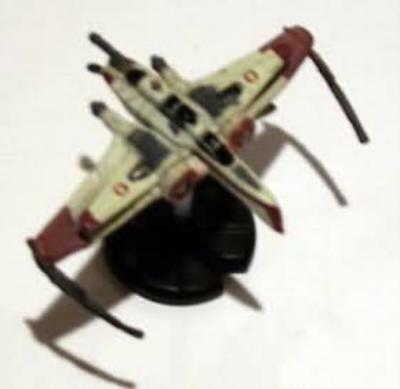 WOTC Star Wars Minis Starship Battles ARC-170 Starfighter MINT