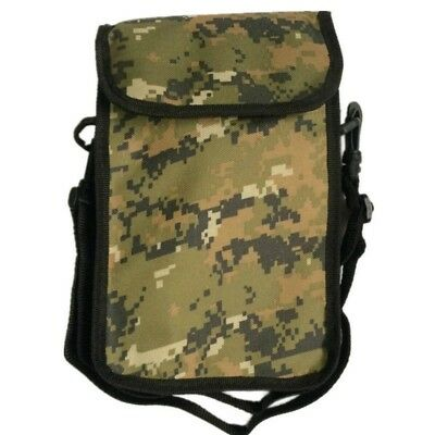 Metal Detector Utlility Finds Pouch Camo Recovery Bag Holder W/ Belt Waist Bag