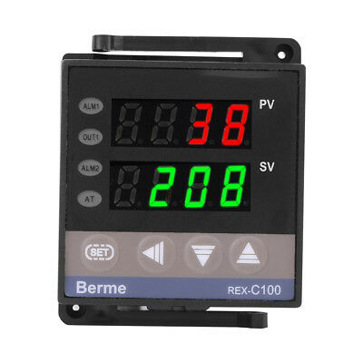 110V/220V REX-C100 Digital PID Temperature Controller RELAY & SSR Thermostat RH