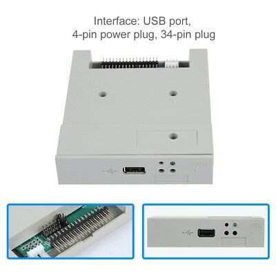 SFR1M44-U USB SDD Floppy Drive Emulator for Industrial W/ 1.44MB Floppy Drive TS