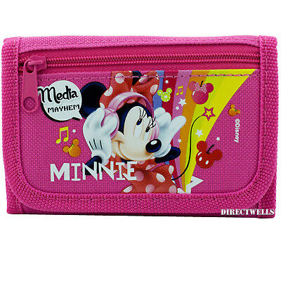 Hot Pink Disney Movie Licensed COCO Tri-Fold Wallet for Kids