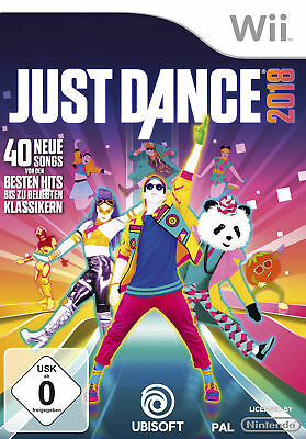 Just Dance 2018 - Nintendo Wii (NEU & OVP!)