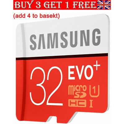 Samsung 32GB Micro SD Card SDHC EVO UHS-I Class 10 TF Memory Card FAST NEW 2019