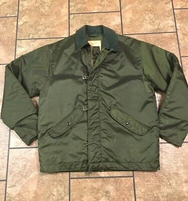 1971 Vintage Alpha Industries EXTREME COLD Weather Military Jacket Size Medium