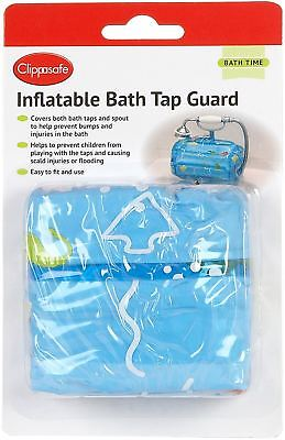 Clippasafe INFLATABLE BATH TAP GUARD Baby Child Safety