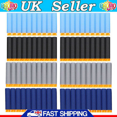 1000Pcs Gun Soft Refill Bullets Darts Round Head Blasters For Nerf N-Strike Toy