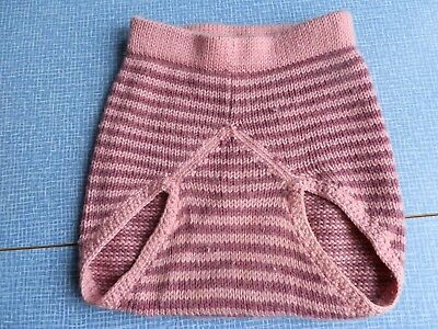 Pink Stripped Woollywrap Size Large USED