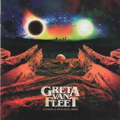 GRETA VAN FLEET - ANTHEM OF THE PEACEFUL ARMY (2018)Hard Rock CD Jewel Case+GIFT