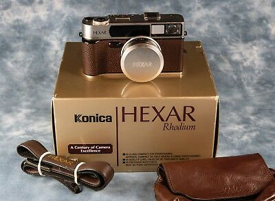 Konica Hexar AF Rhodium auto-focus 35mm film camera
