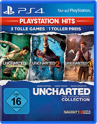 Uncharted: The Nathan Drake Collection - Playstation 4 (NEU & OVP!)
