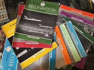 The Royal Observer Corps Recognition Journal. Vol. 1 - 11 Copies - 1959
