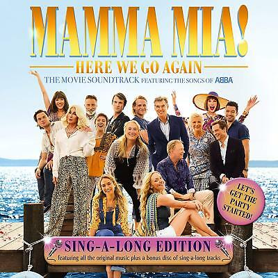 Mamma Mia! Here We Go Again Sing-A-Long Edition Cd 2018