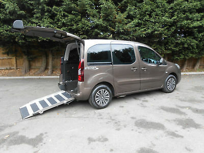 2013 Peugeot Partner 1.6HDi Tepee Se Wheelchair Accessible Vehicle.