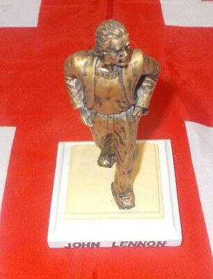 John Lennon The Beatles Liverpool Airport 3D Model Statue Figure