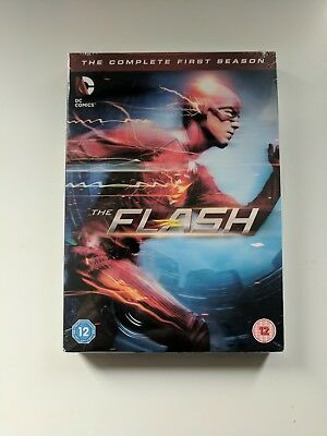 The Flash - Season 1 [2015] (DVD) - New and Sealed