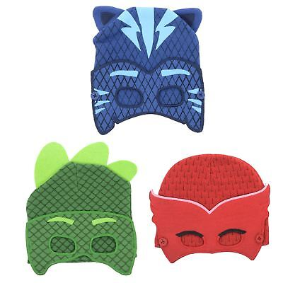 6a4d3b6bb KIDS PJ MASKS Character Beanie Hat With Removable Fabric Eye Mask Dress Up  Play