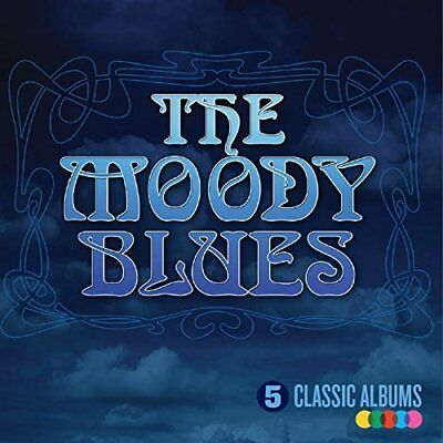 The Moody Blues-5 Classic Albums (UK IMPORT) CD NEW