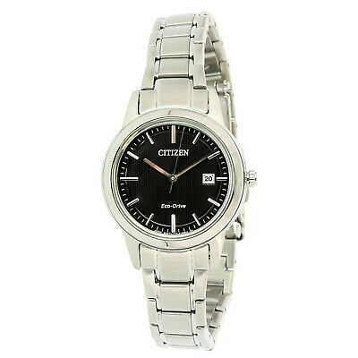Citizen Women's Eco-Drive FE1081-59E Silver Stainless-Steel Plated Fashion Watch