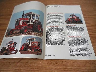 International Ih 766 966 1466 1468 4166 666 674 574 464 354 Brochure Ad