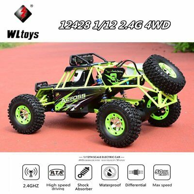 WLtoys 12428 Verbesserte Version 1/12 2.4G 4WD Elektro RTR Off-Road Buggy RC Car