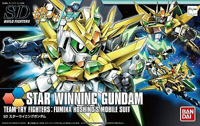 Gundam Build Fighters Try SDBF #030 Star Winning Gundam Model Kit USA SELLER