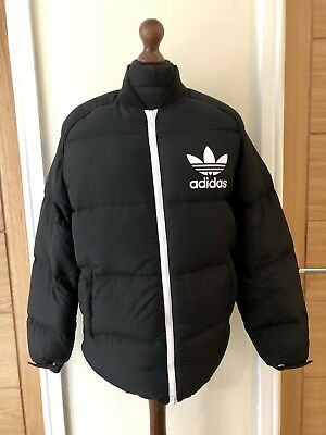 c2fa08534470 Adidas Originals SST Heavy Duck Down Fill Puffa Winter Coat Jacket SZ Medium
