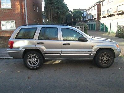 Jeep Grand Cherokee MK 2 4.7 V8 Petrol -MUD NUMBER PLATE -COLLECTION BEXHILL