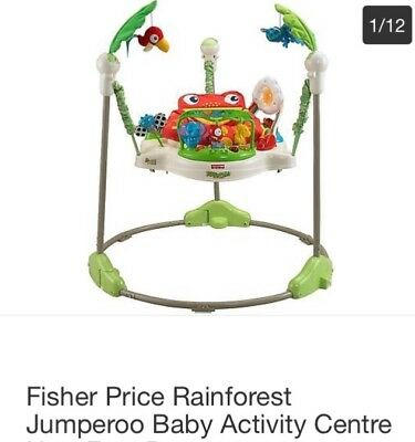 Fisher Price Rainforest Jumperoo - great condition (RRP £148)