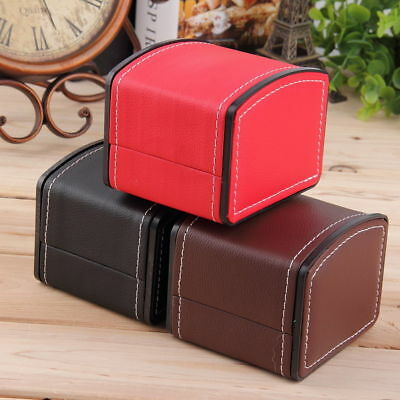 Hot Luxury Watch Box Display Case Gift Box For Watch Jewelry Leather Watch L7