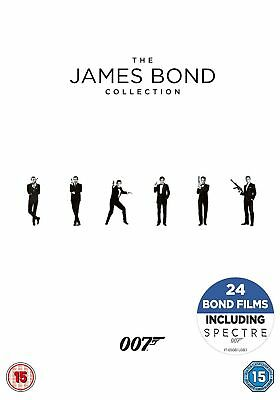 The James Bond Film Collection - 24 Disc Box Set - DVD - NEW & SEALED