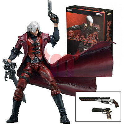 "NECA Devil May Cry Dante Ultimate 7"" Action Figure 1:12 Game Collection Doll New"