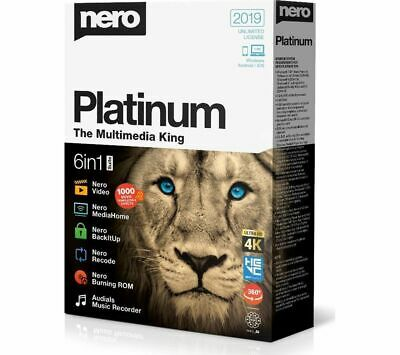 NERO Platinum 2019 - 6 in 1 Suite