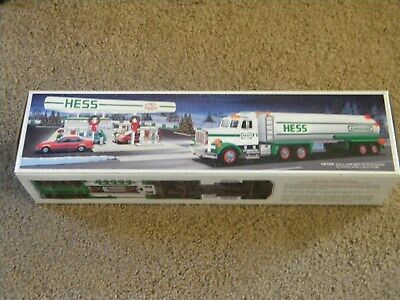 Hess truck 1990 Toy tanker truck  new in box