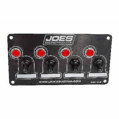JOES Racing Products 46135 Switch Panel, 4 Accessory With Indicator Lights
