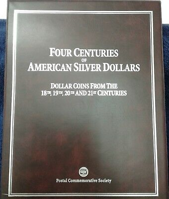 Four Centuries of American Silver Dollars from 18th,19th, 20th, & 21st Centuries