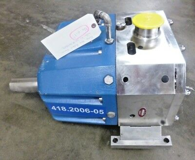 "Rebuilt Viking S4S Stainless Steel 3"" Tri Clover Sanitary Lobe Pump 300 gpm @700"