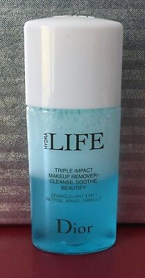 8b8de1bc DIOR HYDRA LIFE Triple Impact Makeup Remover Travel Mini 0.5 oz / 15 mL