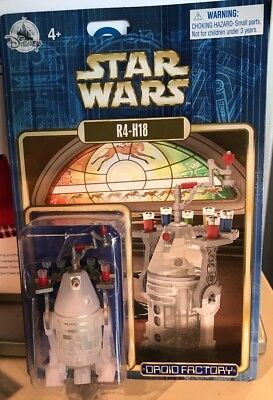 Disney Parks Star Wars Droid Factory R4-H18 Holiday Astromech - New