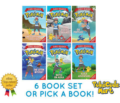 Pokemon Official Story Books Collection First Readers / Early Readers Collection