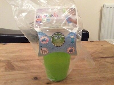 Munchkin Miracle 360 No Spill Trainer Cup - Green - Brand New
