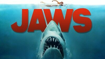 Poster Jaws Steven Spielberg The Shark 2 3 4 5 3D Roy Scheider Poster Film 3