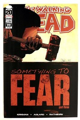 P243 WALKING DEAD #99 From Image Comics 8.0 VF (2012) 1st Printing, AMC TV Show`