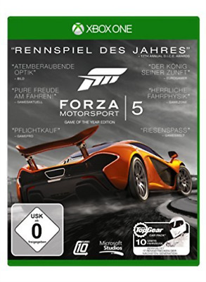 Xbox One-Forza Motorsport 5 - Game of the Year Edition (Ger (UK IMPORT) GAME NEW