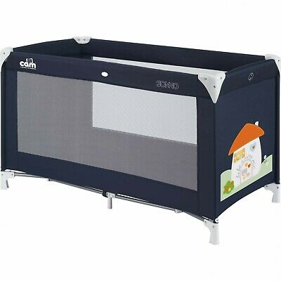 Cot Sleep CAM Il the world of bambino L117/222 Blue
