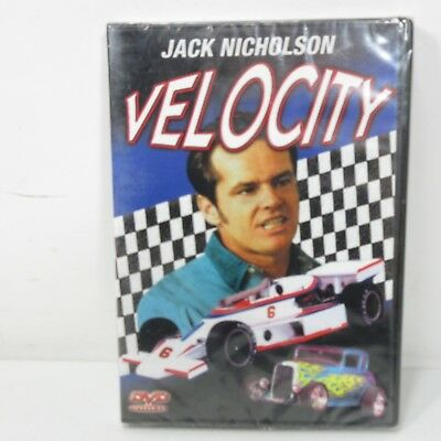 Velocity Jack Nicholson Factory Sealed DVD Hot Rods Racing Cars Classic Movie