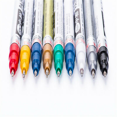 Universal Metal Marker Pen Tyre Tire Art 0.7mm Extra Fine Point Permanent Paint